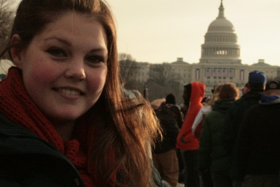 Laura at Obama's 2012 Inauguration